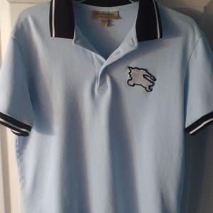 Mens short sleeve collar polo shirt